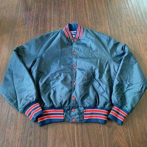 Vintage New England Patriots NFL Satin Jacket